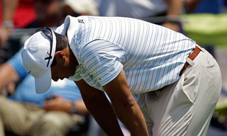 Commence Your Snickering: Tiger Pulls Out Of The Players With Bulging Disc