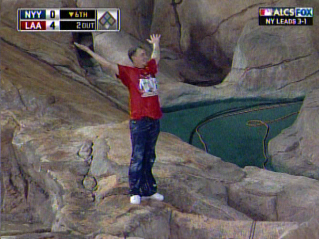 The Waterfall At Angels Stadium Is Not A Public Swimming Pool