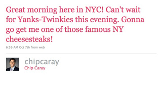 The Fake Chip Caray Twitter Is Up, And It Is Gold