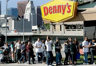 Breakfast Fail: Intrepid Reporter Attempts To Eat Five Denny's Grand Slams