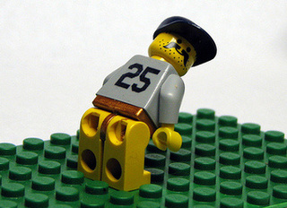 Lego Giambi Is Ready For His Check Up