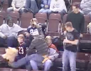 "Littlest Peoria Hockey Fan Pushes Back Against ""Cha Cha Slide"""