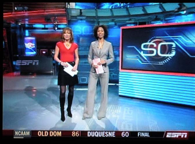 Of What Movie Will Hannah Storm's Next SportsCenter Outfit Remind Us?