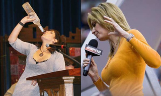SHOTY First Round: Dana Jacobson Vs. Erin Andrews