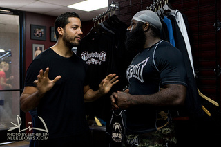Kimbo Slice Lives An American Fantasy And Punches David Blaine In The Stomach