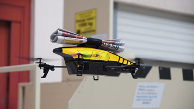 Drones Could Replace Eager Youths On Paper Routes