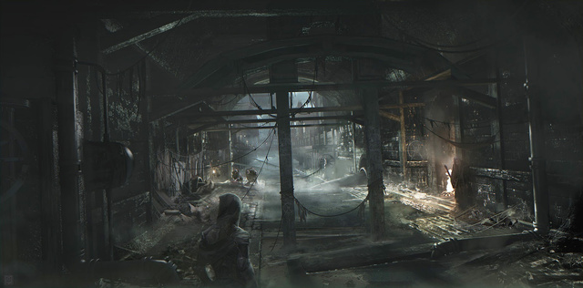 Thief 4 Concept Art Is, Yes, Very Dark