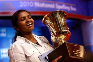 Eighth-Grade Girl Wins National Spelling Bee