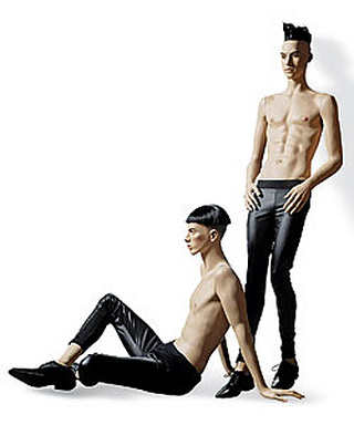 Sign Of The Times: Male Mannequins Get Skinnier