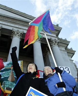 Supreme Court: No Privacy For Opponents Of Gay Rights