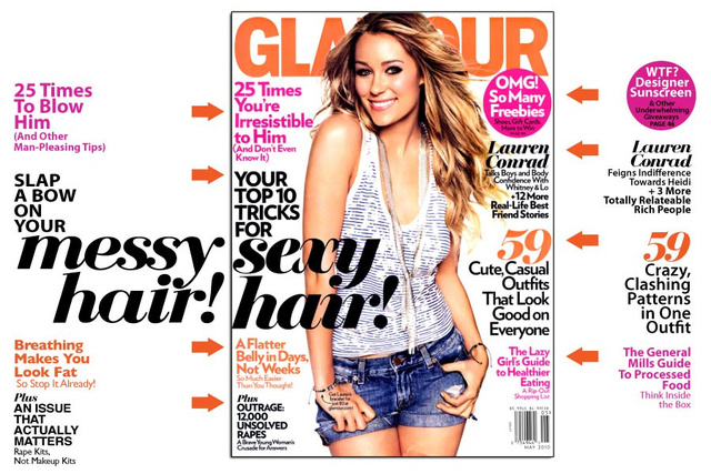 May Glamour: For A Flatter Belly, Cut Back On Breathing