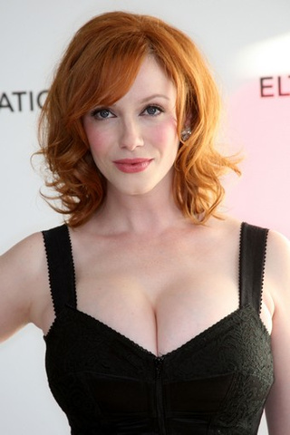 "Christina Hendricks Deemed Fat By Someone Named ""Psycho Mike"""