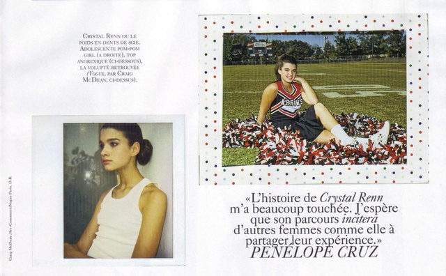 French Vogue Features Crystal Renn… And Her Pubic Hair