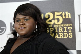 "Gabby Sidibe Is ""Big"" ... Compared To ""Abnormally Tiny People"""