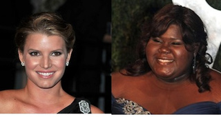 Jessica Simpson Has Gabourey Sidibe's Back