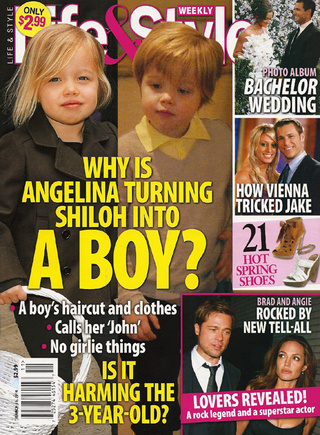 This Week In Tabloids: Angelina's Rough Sex With Ralph Fiennes & Shiloh's Harmful Haircut