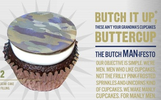 "The Butch Bakery: ""Manly Cupcakes For Manly Men"""