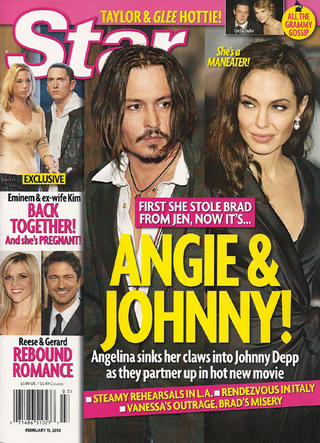 "This Week In Tabloids: Angie Has ""Claws"" In Johnny; Taylor Swift Sleeps In Mayer's Suite"
