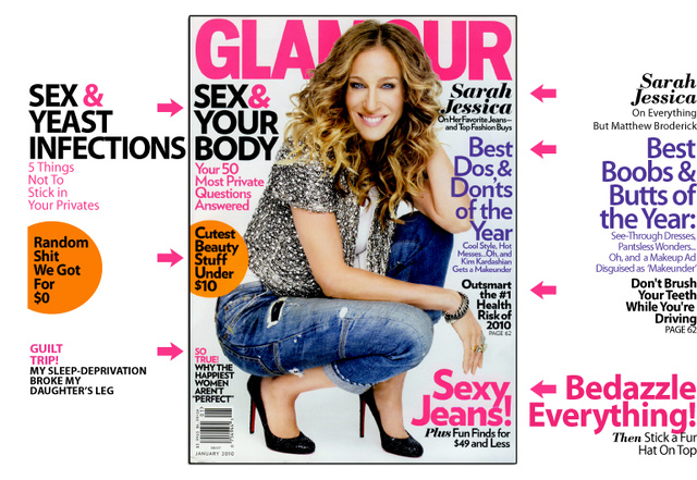 Glamour: In 2010, Resolve Not To Put Popcorn In Your Vagina