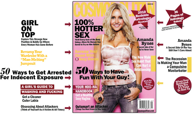 Cosmo's 50 Ways To Scare Your Lover