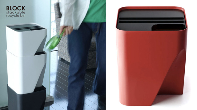 Click here to read These Stacking Bins Make Separating Papers and Plastics a Cinch