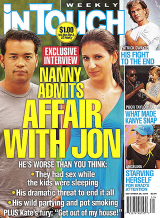 This Week In Tabloids: Jon Has Coke-Fueled Threesome; Lindsay Takes Lil' Sis Bar-Hopping
