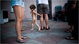 Naked Kids Polarize Clothed Adults