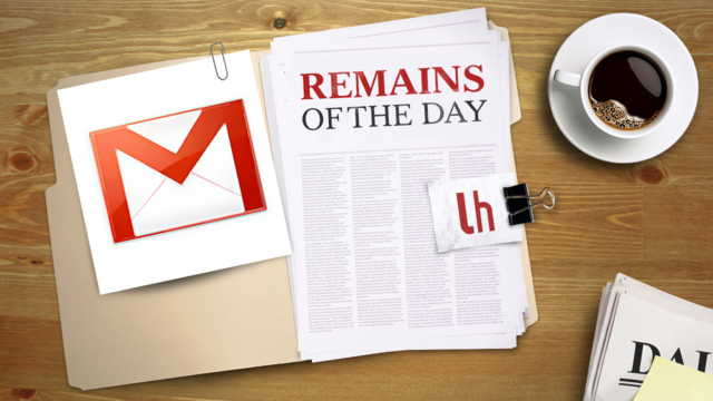 Remains of the Day: Gmail's