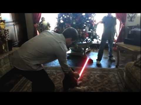 Giving a Baby a Light Saber Is