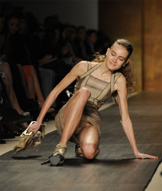 Fashion Week: Living The Nightmare In 6-Inch Platform Heels