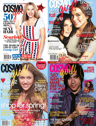 CosmoGirl: One Of The Smarter Newsstand Choices For Teens