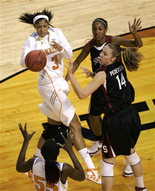 Tennessee Lady Vols Trounce Stanford To Win NCAA Title