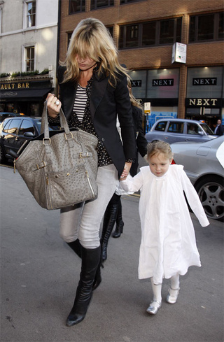 Kate Moss, Daughter Lila Celebrate Easter Five Days Late