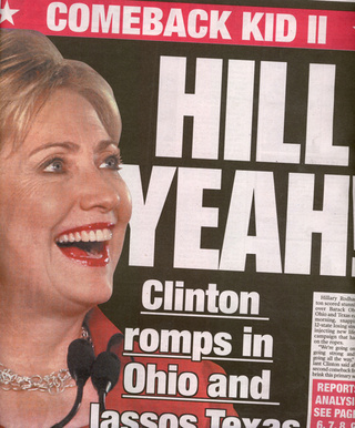 Hillary Wins Big In Thrilling Plot Twist, Oh Yay!