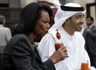 What's That Condi's Drinking? It Doesn't Look Like Kool-Aid!