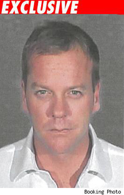 Kiefer Sutherland: Christmas Behind Bars