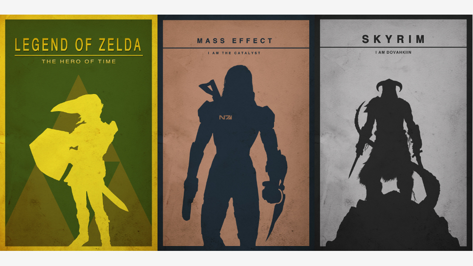The Most Gorgeous Minimalist Gaming Posters Youu0026#39;ll See ...