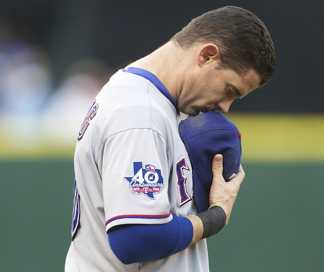 Did The Rangers Leave Michael Young's Locker Open Out Of Respec…