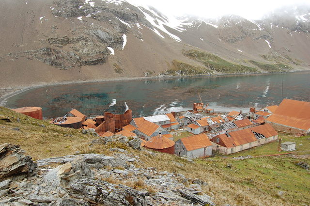 Bunger Hills 8 Abandoned Antarctic Whaling Stations and Bases that are Still