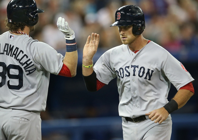 Will Middlebrooks hits three homers as Red Sox roll over Blue J…