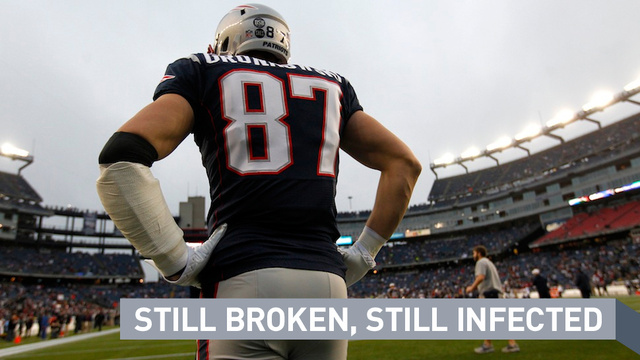 In hindsight, Gronkowski made smart move