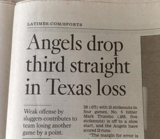 """Baseball Team Loses """"Another Game By A Point,"""" Accord…"""