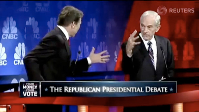 The Old GOP Debate Moment Nobody Talks About: Ron Paul's Claw Hand