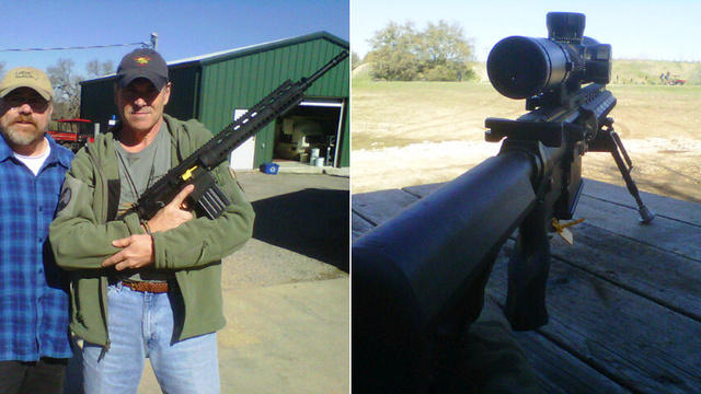 Check Out Rick Perry's Fancy New Killing Machine