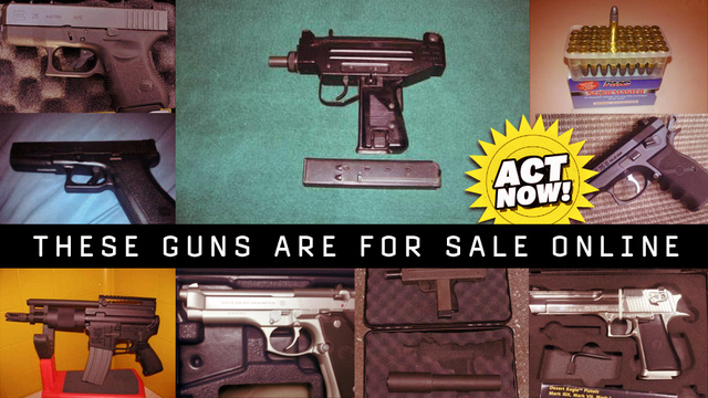 Now You Can Buy Guns on the Online Underground Marketplace