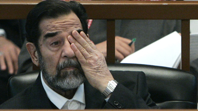 Man Arrested for Stealing Saddam Hussein's Buttock
