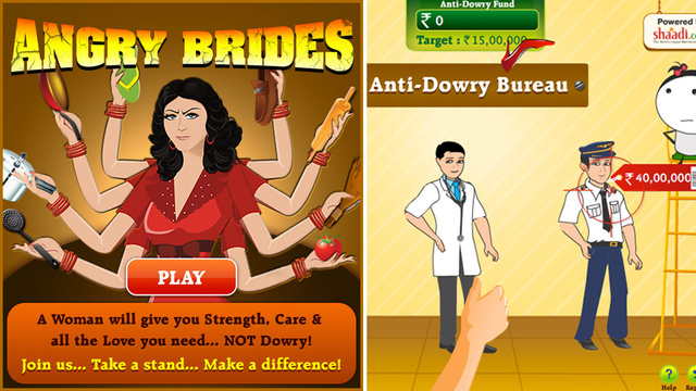 Angry Brides: A Mind-Boggling Video Game About Domestic Violence
