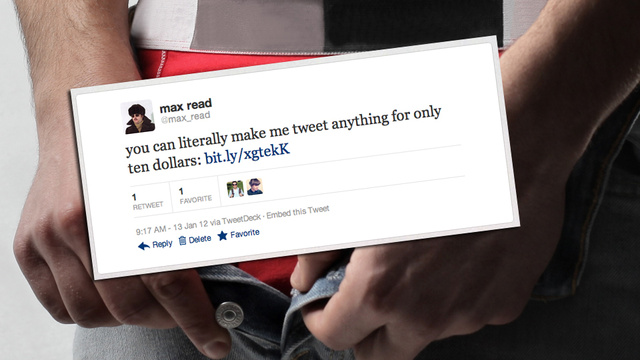 How I Made $70 Selling Myself on Twitter
