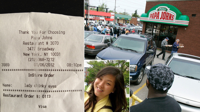 Anti-Asian Fast Food Receipt Racism One Incident Away from Trend