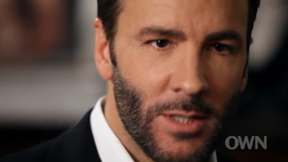Tom Ford Hilariously Can't Stop Talking About Himself